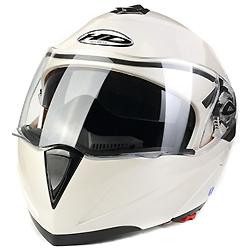 Estilo Plegable Visera Doble Casco de Motocicleta (AH008)