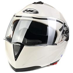Visor Duplo Estilo Retrátil Capacete de Motocicleta (AH008)