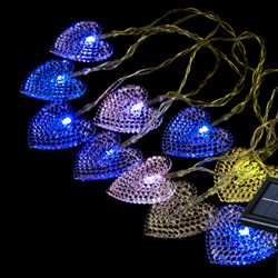 LED Luz Solar Tira la Cuerda para Navidad
