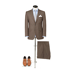 Boutons Classic OEM monter deux hommes Costume d'affaires