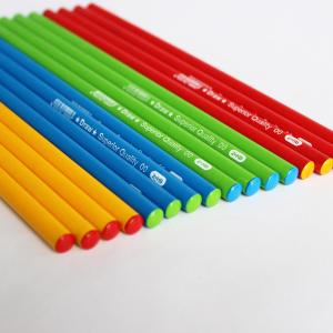 Artigos de Papelaria Lápis Hb de alta qualidade com corpo coloridos, Escola de papelaria