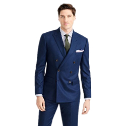 OEM Custom de gros dernière conception double Breasted costumes pour hommes