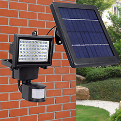 Sensor de Movimiento de las Paredes de Exterior Lámpara de Pared Exterior de las Luces de LED de Energía Solar