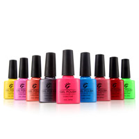 200+ Cores bonitas Nail Art Cheap Price Nail Gel Polish