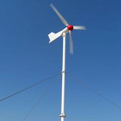 Eixo horizontal de 1 kw Sistema de Turbinas Eólicas