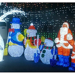 Modélisation de Lumières de Noël en Jours Fériés