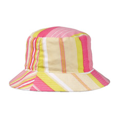 Stripe хлопок саржа ковш Red Hat для женщин