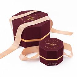 Novo Design Personalizado de Embalagens de Papel de Luxo de Vinho Caixa Alimentar