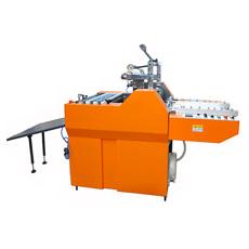 Machine de laminage de film thermique automoteur et économique complète (SFML-520E)