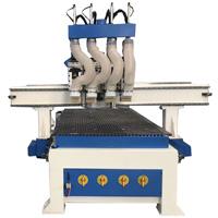 Professional 3D Madeira Metal Gravura de corte para trabalhar madeira Máquinas CNC para porta de madeira