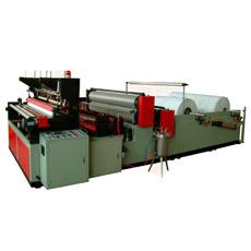 Máquina de Papel Higiénico Rebobinado Gofrado y Perforación Completamente Automático Borde de Poda de Cola de Pegar