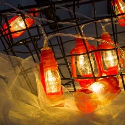 Luces a Prueba de Agua para Árboles de Arroz con Luz de Cadena para Navidad