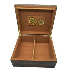 Venda Por Grosso Caixa Backaging Preto OEM Preto Rígida de Caixas de Charutos Caixa de Embalagem de Papel ##Gw-Cg01