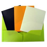 A4 2 bolsos de pasta de apresentação (F2024)