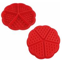 Семьи силиконового герметика для приготовления вафель маффин Bakeware пресс-формы для приготовления пищи инструменты кухонные принадлежности