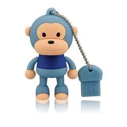 USB de destello de Mickey del mono de la historieta del USB de la dimensión de una variable animal linda del mecanismo impulsor para Disney