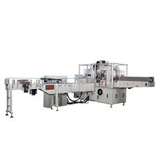 Machine d'emballage automatique des mouchoirs de papier