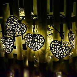 Forma de Flor de LED de 3m 20 Luz de la Cadena de Navidad