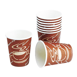 copo de café 8oz quente de papel descartável