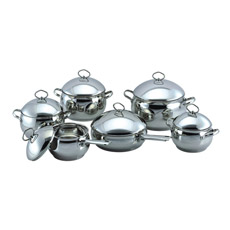комплект Cookware формы 12PCS Apple