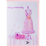 Mama's Tarjeta de felicitación de cumpleaños Día de la mujer/ tarjeta artesanal/ día de la Madre de la tarjeta de felicitación a mano (SL03-03)