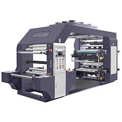 Tipo de pilha de alta velocidade de 8 Cores Flexo máquina de impressão