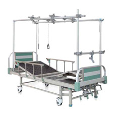 El Bam402g de bajo precio de 4 médicos del Hospital manivelas cama ortopédica para pacientes con discapacidades