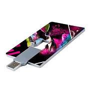 Torsión de la tarjeta de Custom unidad Flash USB Pen Drive