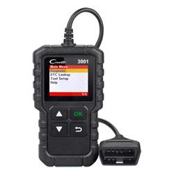 Запуск полной Obdii новоприбывших/допускаемого бортовой системой диагностики кода сканером Creader 3001 диагностического прибора многоязыковой поддержки CR3001 как Al419