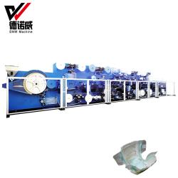 Tipo de cambio de máquina para fabricar toallas sanitarias con Fast&Easy guarnición (HD-WSJ-HKY)
