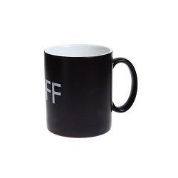 2017 Novo design do logotipo promocional personalizado imprimindo Caneca de cerâmica, chávena de café
