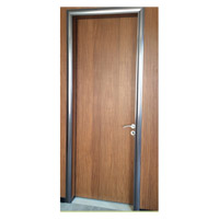 Porta de Entrada da madeira, alumínio porta de madeira, porta de madeira Interior