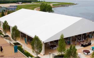 En PVC de 500 places grand chapiteau tente de l'événement de mariage de l'événement de plein air