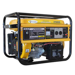 Bobina de cobre pura 15HP gerador da gasolina de 7.5 kVA (começo elétrico com bateria)