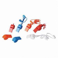 Whistle plástico, Sized los 5.1*2.4*1.9cm, Made del picosegundo, Customized Logo y Design Welcome