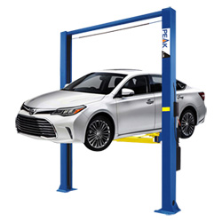Clearfloor Chain-Drived Garaje coche de dos postes grúa de elevación con Ce (208C)