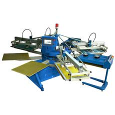 Imprimante automatique de petite taille d'écran de mouchoir de 2 stations des couleurs 6 de série de SPF