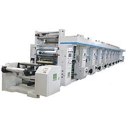 Máquina de impressão de rotogravura de alta velocidade para computador