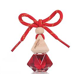 Colgante de Botella de Perfume de Cristal de Coche de Alquiler de Ambientador