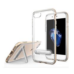 El TPU claro caso de teléfonos móviles con soporte para el iPhone 6