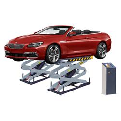 Flush-Mount гаражное оборудование гидравлические 3,5 тонн ножничный Автомобильный подъемник (SX08F)
