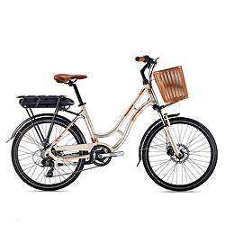 Serie Ebike Playa de Color Blanco con Batería de Litio
