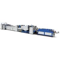 Sheet-Feeding MANEJAR LA MAQUINA PARA FABRICAR Bolsa de papel (ZB1200CS-430)