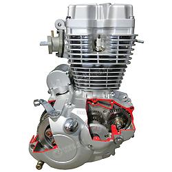 3D150-B Двигателя Мотоциклов