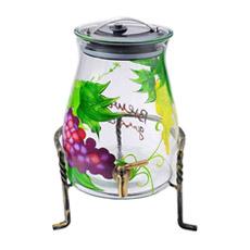 Стеклянный кувшин приготовления вина