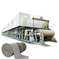 Nuevo diseño de 2400mm 30-150tpd de canaleta de alta calidad Máquina de Papel, máquina de fabricación de papel Kraft