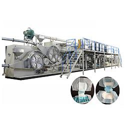 Lleno de alta velocidad del Servo de pañales desechables para adulto Precio de la máquina