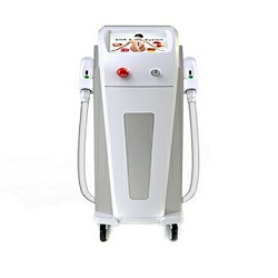 IPL Shr e iluminación de la máquina de belleza láser Shr