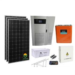 Alimentação do Painel Solar PV portátil sistema doméstico de energia com luz