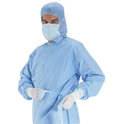Bata cirúrgica descartáveis de alta qualidade com marcação &ISO